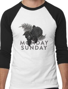 MONDAY SUNDAY Men's Baseball ¾ T-Shirt
