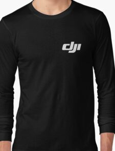 Dji Drone Logo Long Sleeve T-Shirt