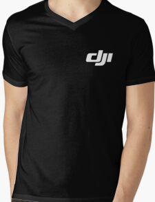 Dji Drone Logo Mens V-Neck T-Shirt