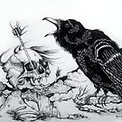 Song Of The Blackest Bird  by Helena Black