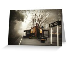 Misty Menzies Creek Greeting Card