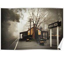 Misty Menzies Creek Poster