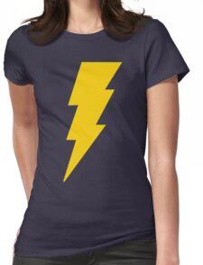 Shazam Bolt Womens Fitted T-Shirt