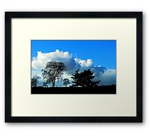 We shall not keep it dry! Framed Print