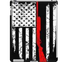shotgun flag iPad Case/Skin