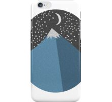 Simple Mountain Design iPhone Case/Skin