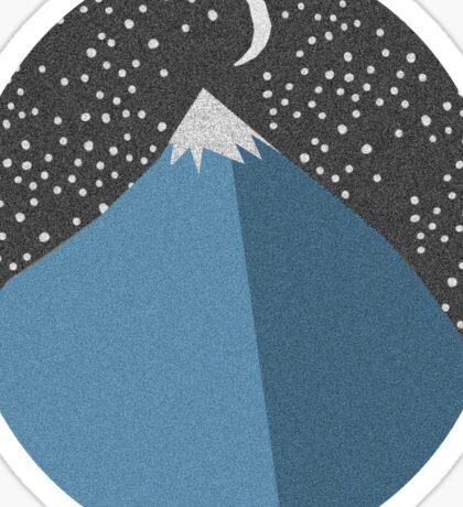 Simple Mountain Design Sticker