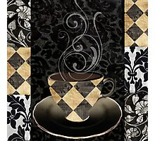 Cafe Noir Harlequin Photographic Print