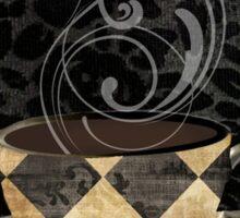 Cafe Noir Harlequin Sticker