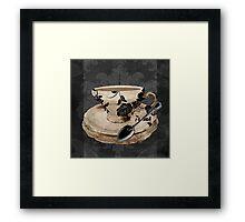 Vintage Cafe I Framed Print
