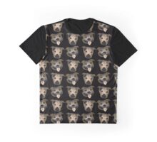 Staffy heads Graphic T-Shirt