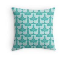 MCM Dala Teal Throw Pillow