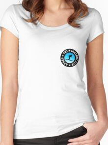 Après-Ski Instructor Skier Women's Fitted Scoop T-Shirt