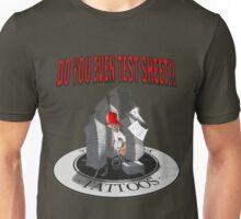 test sheet 2 Unisex T-Shirt