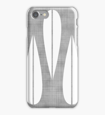 Make Mine MCM Grey iPhone Case/Skin
