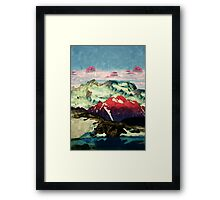 Winter in Keiisino Framed Print