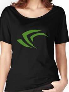 old vintage nvidia geforce Women's Relaxed Fit T-Shirt