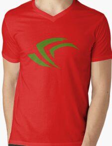 old vintage nvidia geforce Mens V-Neck T-Shirt