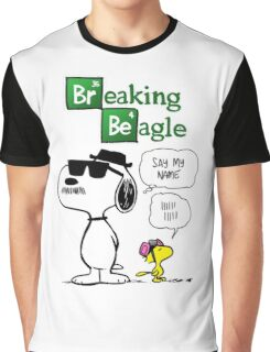 Breaking Beagle Graphic T-Shirt