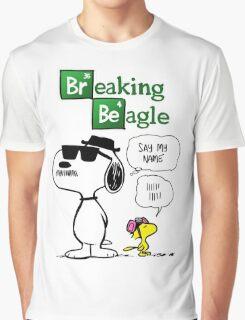 Breaking Beagle Graphic T-Shirt