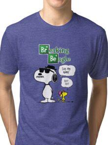 Breaking Beagle Tri-blend T-Shirt