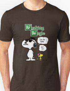 Breaking Beagle Unisex T-Shirt