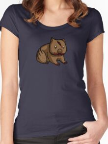 Zombie Wombat Women's Fitted Scoop T-Shirt