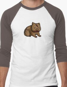 Zombie Wombat Men's Baseball ¾ T-Shirt