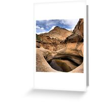CAPITAL REEFS Greeting Card