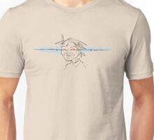 Narrowed eyes. Unisex T-Shirt