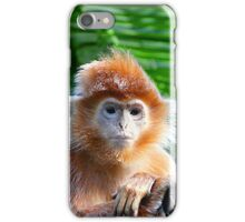 GUESS WHO WON THE STARING CONTEST? iPhone Case/Skin