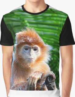 GUESS WHO WON THE STARING CONTEST? Graphic T-Shirt