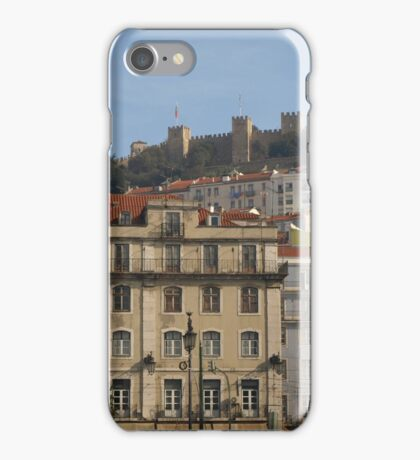 Lisbon, Fort at top iPhone Case/Skin