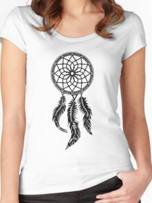 Dream Catcher, Native American Indians, Protection Women's Fitted Scoop T-Shirt