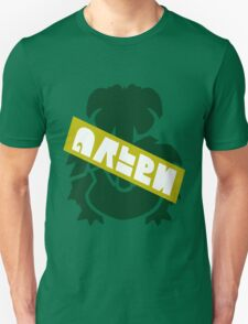 Pokemon Team Green Splatfest Logo Unisex T-Shirt