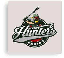 Bounty Hunters baseball  Canvas Print