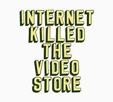 Internet Killed The Video Store Men's Baseball ¾ T-Shirt
