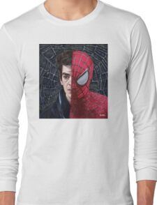Spiderman's Web Long Sleeve T-Shirt