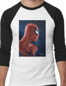 Spiderman! Heroic Profiles #1 Men's Baseball ¾ T-Shirt