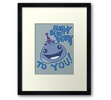Happy Blueberry to You! Framed Print