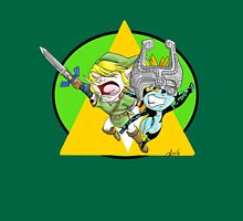 Chibi Link and Midna Unisex T-Shirt
