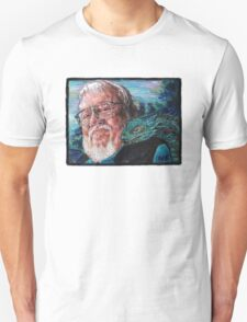 George R. R. Martin Father Of Dragons T-Shirt
