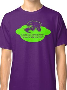 mauled by bears - funny  Classic T-Shirt