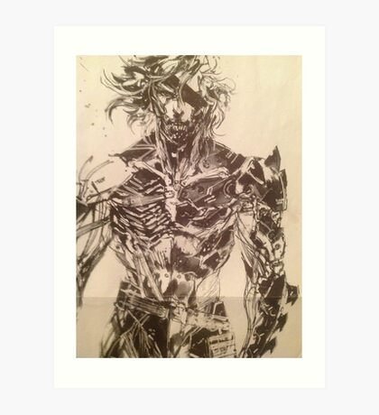Broken Raiden Art Print
