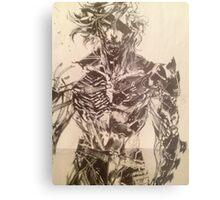 Broken Raiden Metal Print