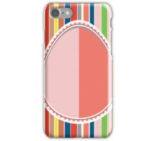 Decorative Paper Egg iPhone Case/Skin