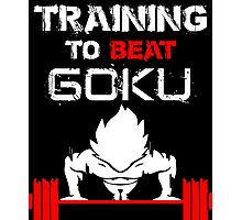Training to Beat GOKU! Photographic Print