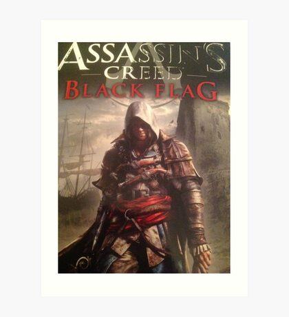 Assassins Creed Black Flag limited cover Art Print