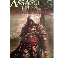 Assassins Creed Black Flag limited cover Photographic Print