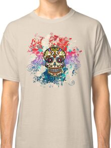 Mexican Sugar Skull, Day of the Dead, Dias de los muertos Classic T-Shirt